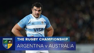 Argentina v Australia Rd.6 2018 Rugby Championship video highlights | Rugby Championship Video Highl