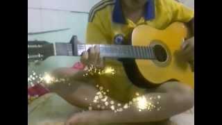 Mam hlub lwm tiam tab  guitar hmoob cover 2016