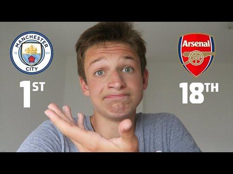 MY PREMIER LEAGUE PREDICTIONS 2018/19 - Arsenal...