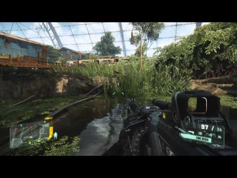 New Crysis 3 Gameplay Video Shows Off Train Yard Battle