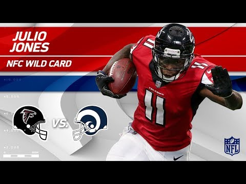 Video: Julio Jones' 107 Total Yards & 1 TD vs. LA! | Falcons vs. Rams | Wild Card Player HLs