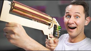 Video Rubber Band Machine Gun? | 10 Strange Projectile Weapons MP3, 3GP, MP4, WEBM, AVI, FLV September 2018