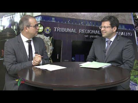 """Presidente da Amatra14 fala sobre """"A Reforma Trabalhista"""" no Programa Justiça&Cidadania, exibido em julho de 2017."""