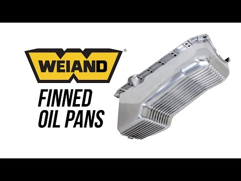 Weiand Finned Oil Pans