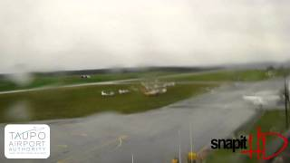 Taupo Airport Webcam Tuesday 26th April 2011
