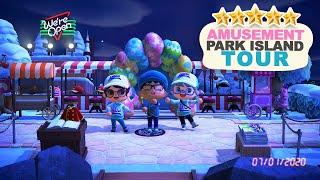 Incredible Amusement Park 5 Star Island Tour in Animal Crossing New Horizons! by iHasCupquake