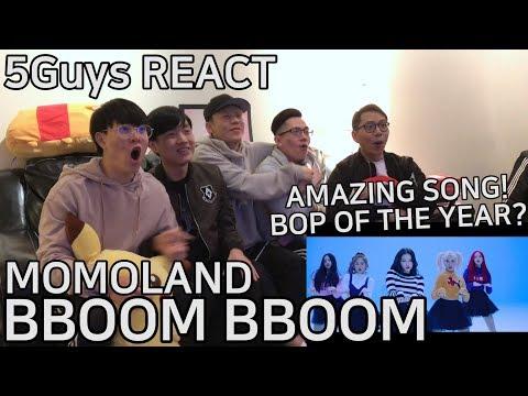 Video [OMFG AMAZING] MOMOLAND (모모랜드) - BBoom BBoom (뿜뿜) 5Guys MV REACT download in MP3, 3GP, MP4, WEBM, AVI, FLV January 2017