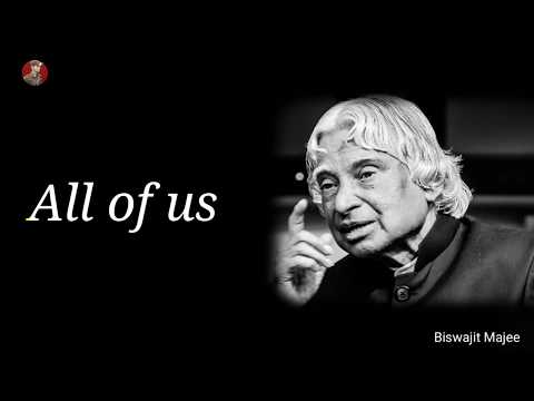 Funny quotes - All of us  Dr. A.P.J Abdul Kalam Motivational Whatsapp Status & Quotes