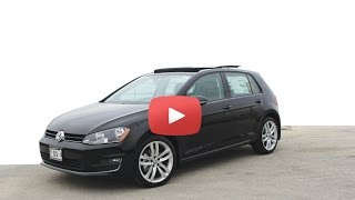 2015 Volkswagen Golf TDI | Review | 2015 VW Golf TDI Test Drive