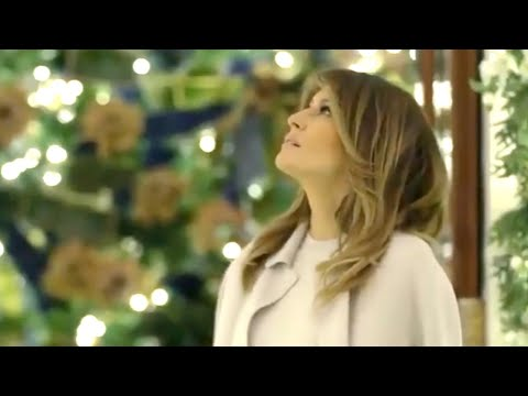 Melania Trump's 2019 White House Christmas Decorations Showcases the Spirit of America | NTDTV