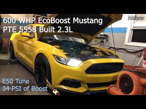 600 WHP EcoBoost Mustang? Yeah We Tune Those! | PTE 5558 Built 2.3L on E50