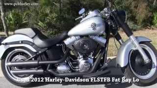 4. Used 2012 Harley Davidson FLSTFB Fat Boy Lo