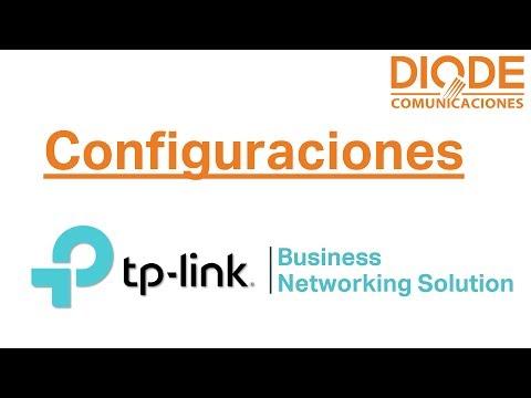 Configuración Avanzada del Software Auranet EAP Controller – TP-Link