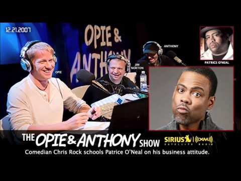 Comedian Chris Rock schools Patrice ONeal on Opie and Anthony(2007)