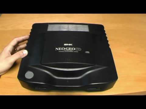 NEO GEO CD - review by the RETRO GAMBLER (Deutsch)
