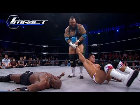 EC3 Faces Opponant Picked By Kurt Angle.. Lashley (Jun 17, 2015)