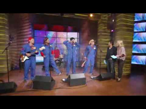 The Imagination Movers on Live With Regis And Kelly