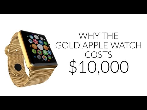 The Real Reason the New Gold Apple Watch Costs $10,000