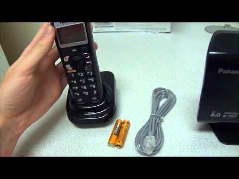 Panasonic KX-TH1212B Bluetooth Wireless Phone Set