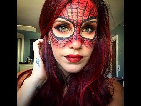 Download Video Spiderwoman Halloween Makeup Tutorial
