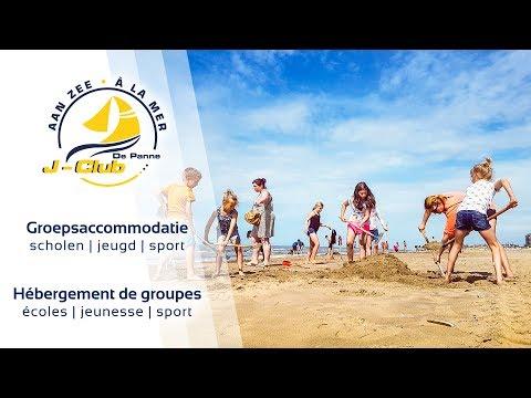 Download J-Club De Panne - Groepsvakanties aan zee HD Mp4 3GP Video and MP3