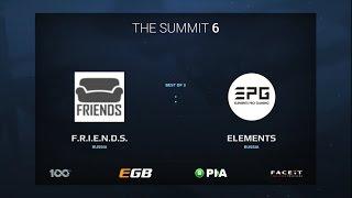 F.R.I.E.N.D.S. vs Elements Pro Gaming, Game 2, The Summit 6 Qualifiers, Europe