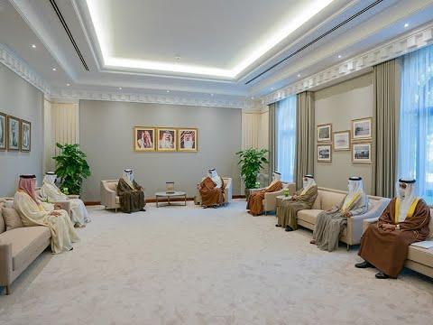 سمو ولي العهد رئيس مجلس الوزراء يلتقي سعادة السيد سمير عبدالله ناس رئيس غرفة تجارة وصناعة