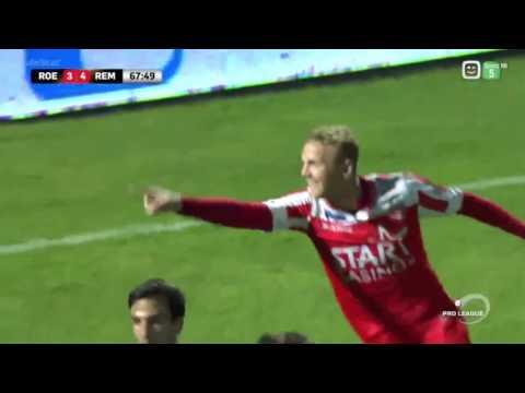 Trezeguet Summary - 15-04-2017 Roeselare 3-5 Mouscron (видео)