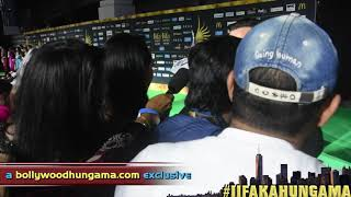 At the green carpet of IIFA New York, Bollywood Hungama spoke to Saif Ali Khan. He said he was rooting for himself to host well. Must Watch! Report: Faridoon ShahryarVideo Courtesy: Farrukh JilaniWatch more Exclusive Celebrity Interviews right here http://www.bollywoodhungama.com/Like BollywoodHungama on Facebook:https://www.facebook.com/bollywoodhungamacomFollow BollywoodHungama on Twitter:https://twitter.com/BollyhungamaCircle BollywoodHungama on G+:http://bit.ly/1uV6Qba