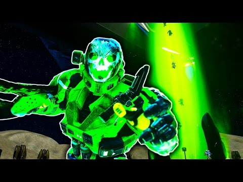 Death Run in Halo 5! (видео)