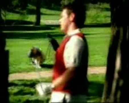 Maybe golfing is a contact sport after all