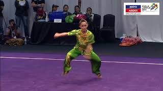 20 Ogos: Wushu - Nanquan (Wanita) Diana Bong meraih pingat emas. SUBSCRIBE YouTube Astro Arena...