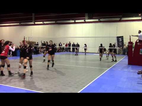 BCO Elite (BC#1) vs Winnipeg Shock (MB#1) Set 3 2015 18U Canadian National Semifinal