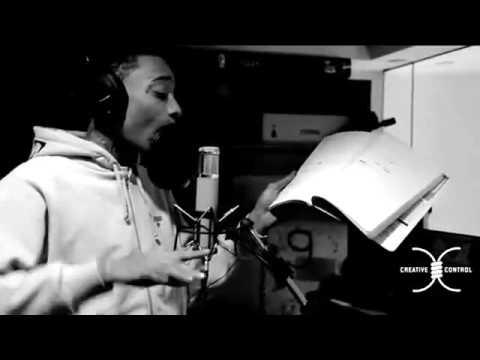"Wiz Khalifa Recording ""Sweat Box"" Live In The Studio"