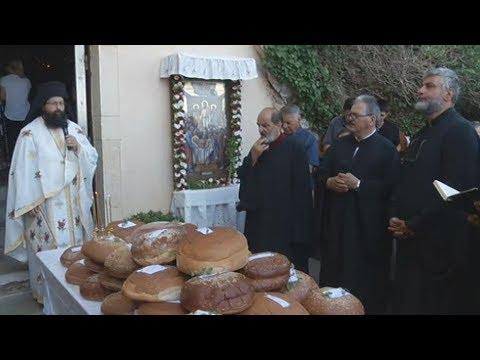 Με κατάνυξη σε ύψος 540 μέτρων για προσκύνημα στο μοναστήρι της Παναγίας