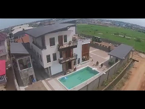 Kunle Afolayan shows off his mansion - EL Now