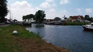 Pontonbrücke Sint Maarten Niederlande
