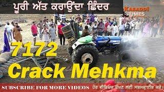 71 72 Crack Mehkma 1st Prize Winner of Tractor Tavian Mukabla, Budhi Pind Hoshiarpur- Kabaddi Times
