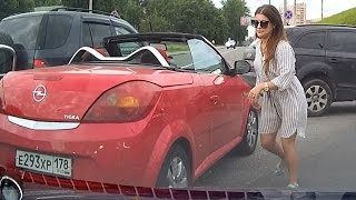 Женщины за рулём (новая подборка)