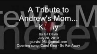 A Tribute to Drew's Mom--Kathleen G. Smith-Davis-Fuentes