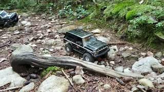 Video Forest Monster Trx4 Ford Bronco Castle 2280kv MP3, 3GP, MP4, WEBM, AVI, FLV Oktober 2018