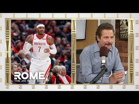Video: Carmelo Goes Cold! | The Jim Rome Show