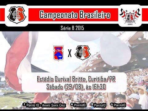 P10 - Paraná 3 x 2 Santa Cruz ( assistindo ao jogo no bar do pátio de Santa Cruz ) 29/08/2015 - Portão 10 - Santa Cruz