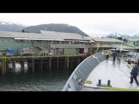 ferry - Matanuska ferry crashes into Ocean Beauty Seafood processing plant in Petersburg, Alaska.