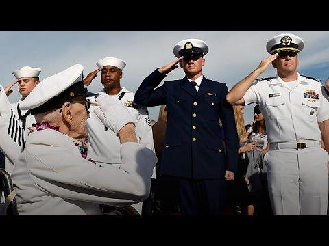 ΗΠΑ: Τελέτες για τα 75 χρόνια από το Περλ Χάρμπορ