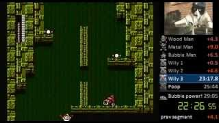 Mega Man 2 Speedrun (normal Mode With Zips) - 28:49