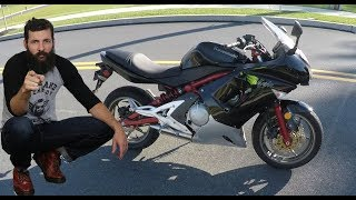 10. Why the 650 is better than the 600 ZX6R ninja