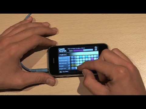 David Guetta iPhone Application Demo