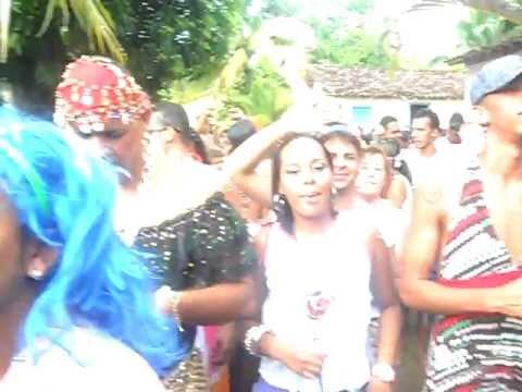 Ilha Grande de Camamu Carnaval 2012 Bloco as Piriquetes