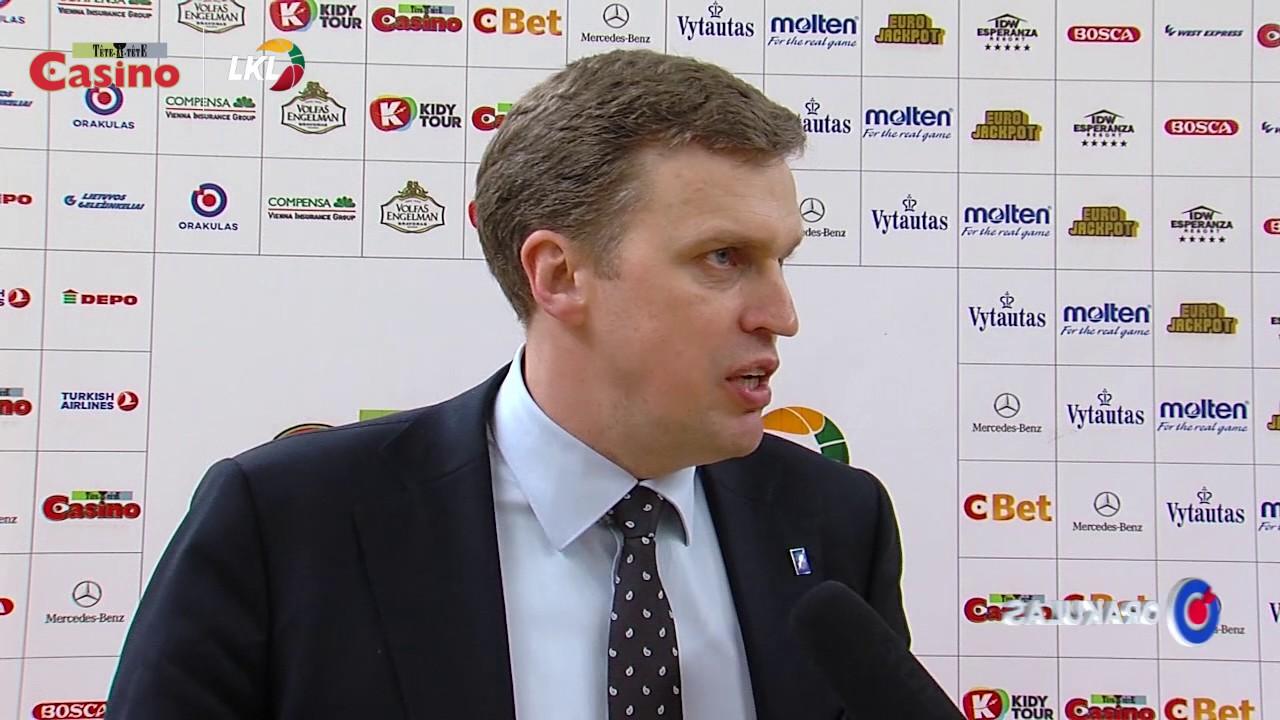 """D.Adomaitis: """"Džiaugiuosi komandos žaidimu, bet laukiame labai sunkių kitų rungtynių"""""""